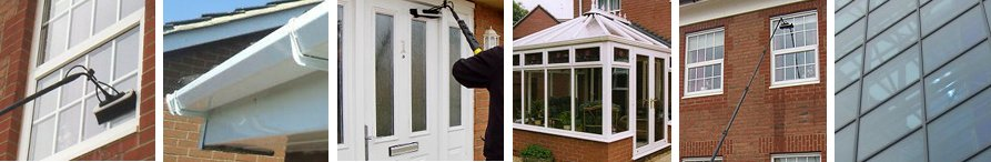 Commercial and residential window cleaners